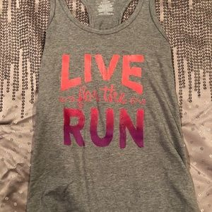 Live for the run Tank